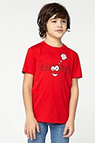 Boy's Short Sleeve Google Eye Graphic T-Shirt