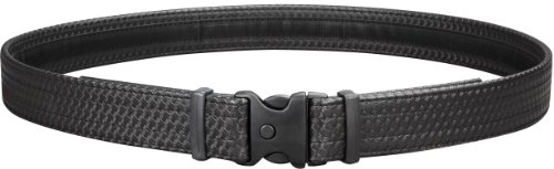 Lowest Prices! Uncle Mike's Law Enforcement Mirage Basketweave Ultra Duty Belt with Hook and Loop Li...