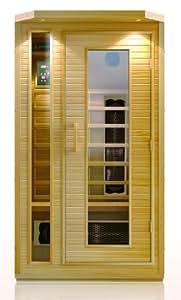 Precision Therapy Portable Far Infrared Sauna Sauna with Negative Ion - Large