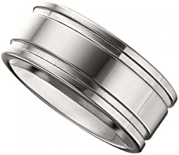 Grooved Flat Band - 10 MM