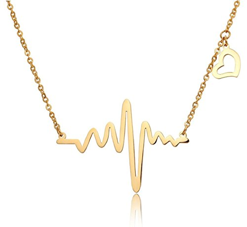 Om-Jewells-Gold-Plated-Heartbeat-Love-Forever-Pendant-for-Women-Girls-PD1000807