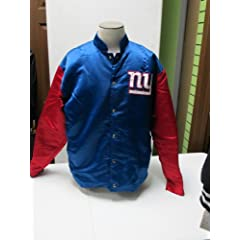 New York Giant Satin Jacket by NFL