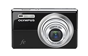 Olympus FE-5010 12MP Digital Camera with 5x Optical Dual Image Stabilized Zoom and 2.7-inch LCD (Black)