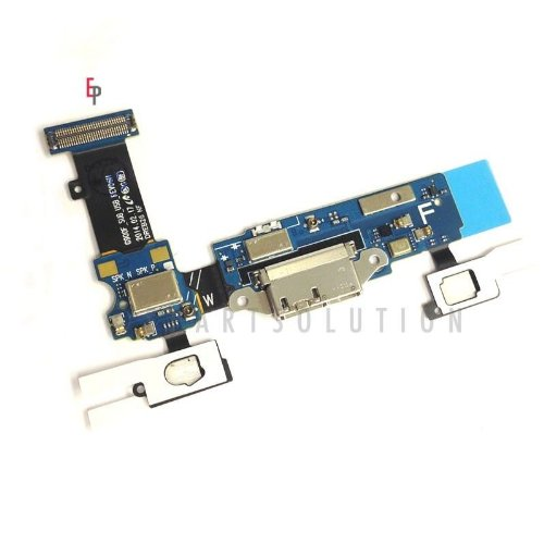 Epartsolution-Samsung Galaxy S5 G900F Charging Port Flex Cable Dock Connector Usb Port With Mic Microphone Flex Cable Repair Part Usa Seller