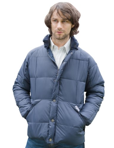 Puffa Country Sports Men's Astley Country Jacket - Navy, Small