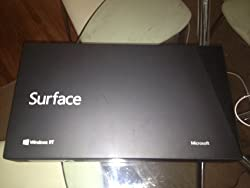 Microsoft Surface 32gb with Black Touch Cover