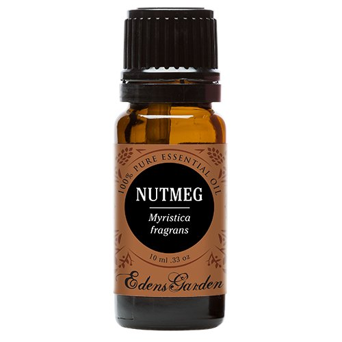 Nutmeg 100% Pure Therapeutic Grade Essential Oil by Edens Garden- 10 ml