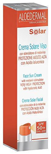 Esi Aloedermal Solar Viso, SPF 50+, Protezione Raggi Solari - 50 ml