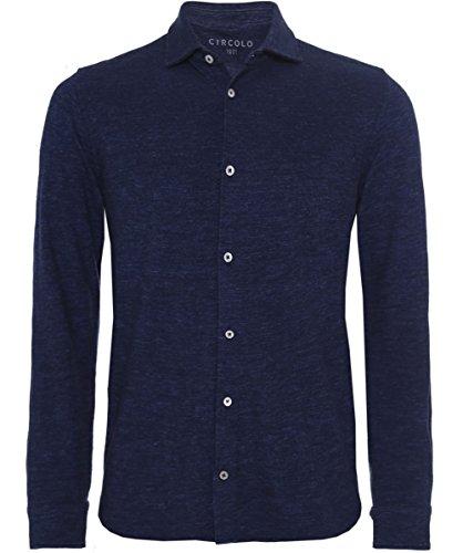 Circolo 1901 Camicia in cotone Jersey Blu M