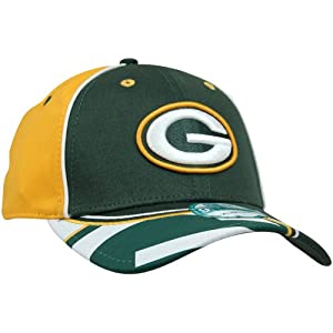 Era Green Bay Packers Field Goal 9FORTY Adjustable Hat - Green/Gold by New Era