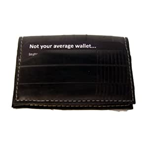 Alchemy Goods Belltown Compact Wallet, Made from Recycled Bike Tubes