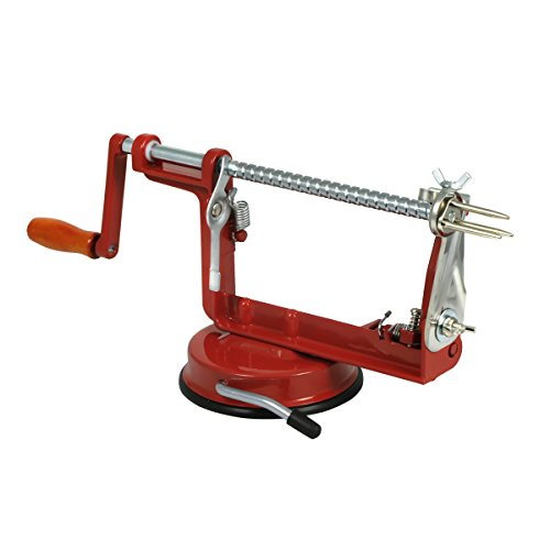 Farberware Apple Peeler, Slicer and Corer, Small, Red (Farberware Slicer compare prices)