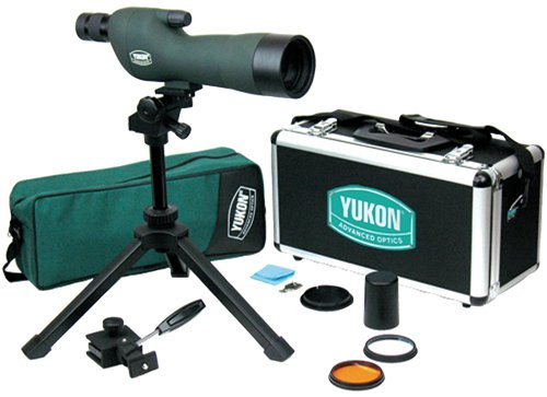 Yukon Advanced Optics Spotting Scope Kit with Straight Eye Piece (15?45 X 60mm)