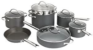Anolon Professional Hard Anodized Nonstick 12-Piece Cookware Set