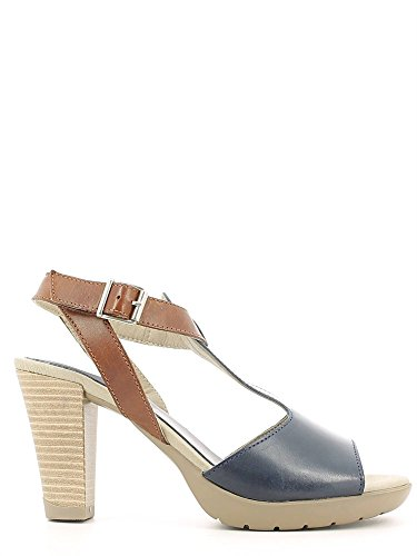 Callaghan 94518 Sandalo tacco Donna Blu 37