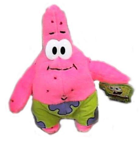 """Sponge Bob Square Pants 7"""" Patrick Plush - 1"""