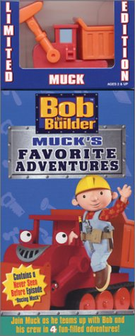 Bob the Builder - Muck's Favorite Adventures (with Toy) [VHS]Bob the Builder - Muck's Favorite Adventures (with Toy) [VHS]