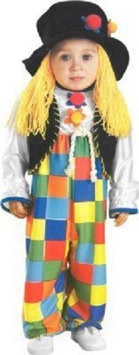 Patches the Clown Child Halloween Costume Size 4-6 Small