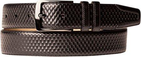 Mezlan Mens New Fashion Summer Belt, BLACK, 44 (AO9801)