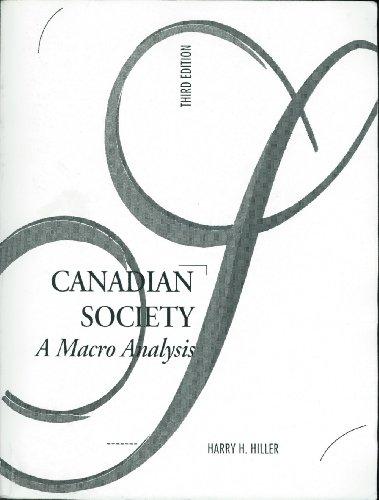 Canadian Society: A Macro Analysis
