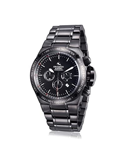 Strumento Marino Men's Black SM103MB/BK/NR/NR Watch