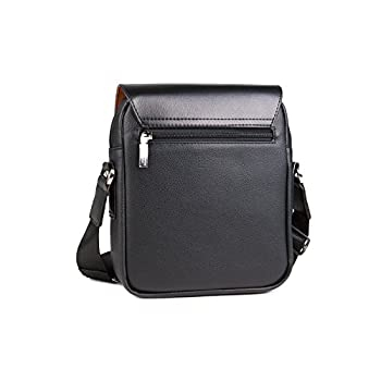 Bonamana Men Canvas Leather Shoulder Bags For Men 2