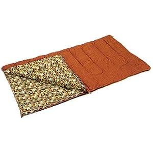 キャプテンスタッグ 寝袋 シュラフ キングサイズシュラフ [最低使用温度5度] M-3414