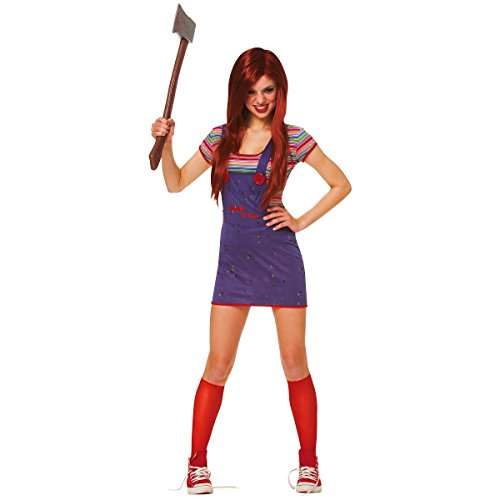 [Sassy Chucky Costume - Teen] (Chucky Costume For Kids)