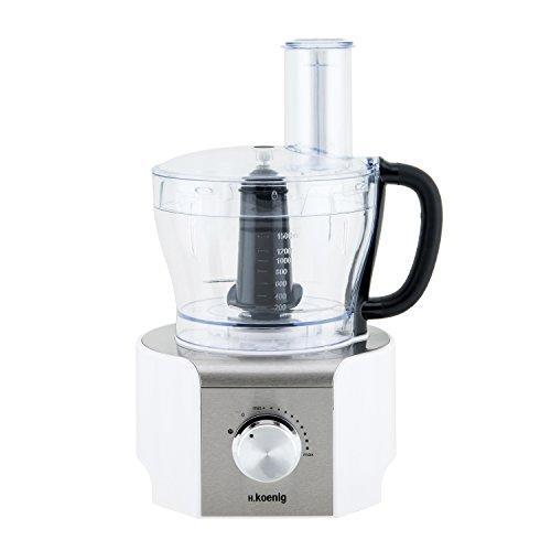 H. KOENIG MX18 Standmixer, Küchenmixer, 8 Funktionen, 1.5 L, 800 W, weiß