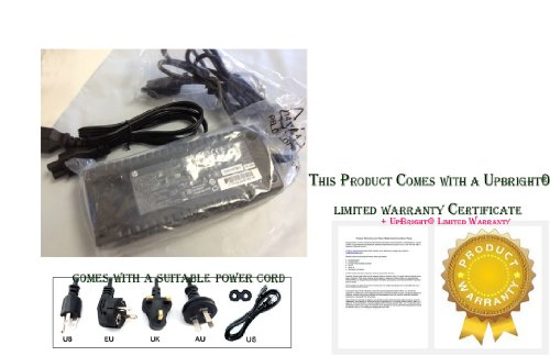 UpBright® NEW OEM HP COMPAQ Elite 8300 8200 8000 UltraSlim PC AC / DC Adapter Power Cord Supply Charger Model/Part/Specs: SPARE PART HP 19V 7.1A 19.5V 6.9A 135W SPARE PART HP 135W 612750-001 648964-001 647982-001, HSTNN-L-A01-E 8000 8200, PA-1311 PA-1131-08HC HP 135W, 135W 397747-001 397803-001, VS838UA VS838UA#ABA , MXL117078G ADS-18E-12B Laptop Notebook Computer PC Power Supply Cord Cable Battery Charger Input: 100 - 240V AC Worldwide Voltage Use Mains PSU (Compaq Elite 8000 compare prices)