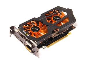 Zotac GeForce GTX 660 Ti 2GB GDDR5 PCI Express 3.0 HDMI Two dual-link DVI DisplayPort SLI Ready Graphics Card, ZT-60802-10P Graphics Cards ZT-60802-10P