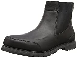 Timberland Men\'s Earthkeepers® Chestnut Ridge Chelsea Waterproof  Black Smooth 11.5 EE - Wide