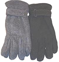 Set of Two Pairs One Size Mongolian Fleece Very Warm Gloves for Women