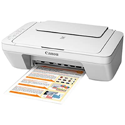 Canon MG2570 Colour Multifunction Inkjet Printer (WHITE)