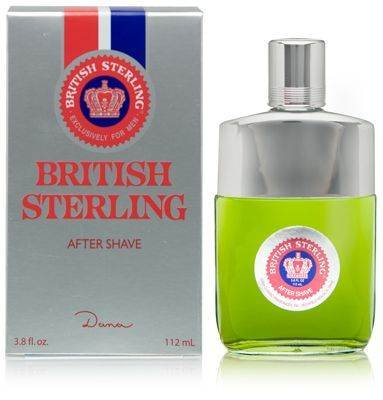 BRITISH STERLING After Shave 3.8 OZ by Dana Classic Fragrances