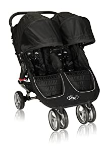 Baby Jogger 2012 City Mini Double Stroller, Black/Gray