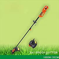 2 In 1 Electric Grass Trimmer / Brush Cutter Mover Lawn Clipping Machine (1000W)