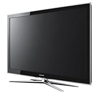 Samsung LE46C750 116,8 cm (46 Zoll) 3D-LCD-Fernseher (Full-HD, 200Hz, DVB-T/-C) mit 3D-Brille schwarz
