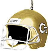 3 Helmet Ornament-GA Tech