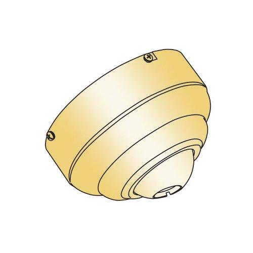 Sea Gull Lighting 1631-02 Flush Mount Canopy, Polished Brass