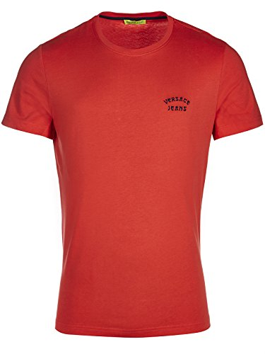 Versace Jeans Couture T-Shirt (M-03-Ts-34998) - 48(DE) / 48(IT) / 48(EU) - rot