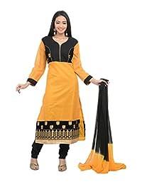 Sareeshut Women's Cotton Regular Fit Anarkali Suits - B00WQZ77B2
