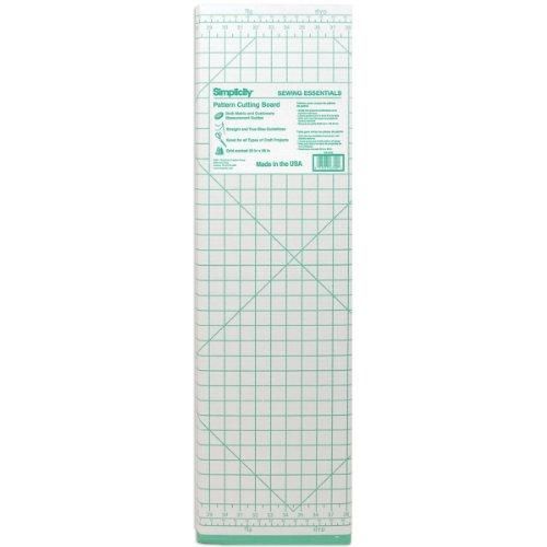 Cardboard Pattern Sewing Cutting Board-36