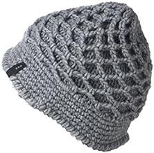 LOFOIO Cappello fatto a mano Rete GRIGIO lana