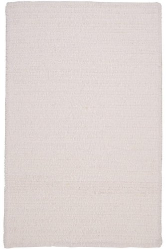 Allusion Area Area Rug, 4'x6', CLOUD WHITE