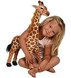 Kangaroo Stuffed Giraffe - Toy Plush Giraffe- 2' High, Neck Moves