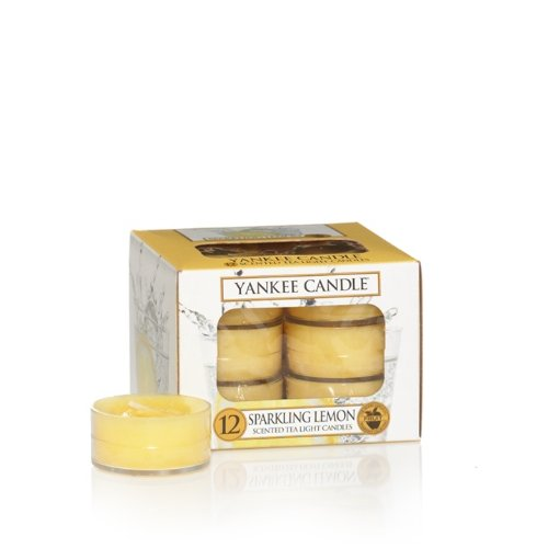 Sparkling Lemon Tea Light Candles - Yankee Candle