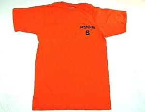 Syracuse Orangemen Adidas Fight Fight Fight Orange Short Sleeve Mens T-Shirt by JAGZ