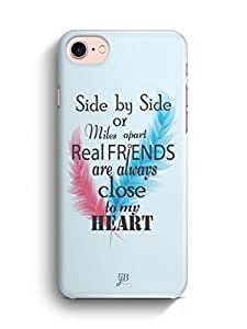 YuBingo Real Friends are close to my Heart Designer Mobile Case Back Cover for Apple iPhone 7