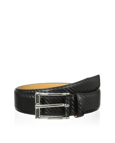 Leone Braconi Men's Textured Belt